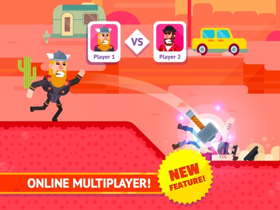 Bowmasters - Multiplayer Game на iPad