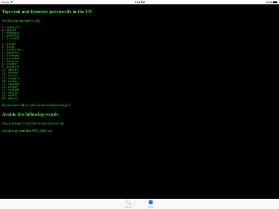 Checker007 Snowden Password Screenshots