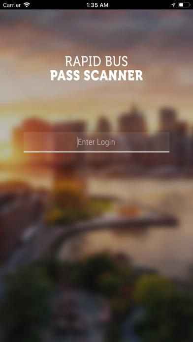 Rapid Bus Pass Scanner