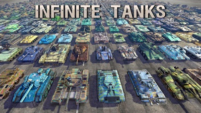 Screenshot Infinite Tanks