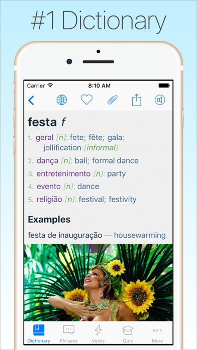 Screenshot #6 for Portuguese Dictionary & Translator +