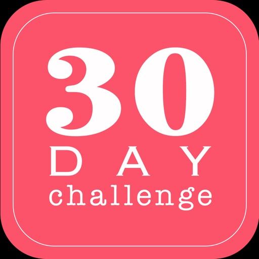 30日間フィットネスチャレンジ/スクワット・プランク・脚パカ