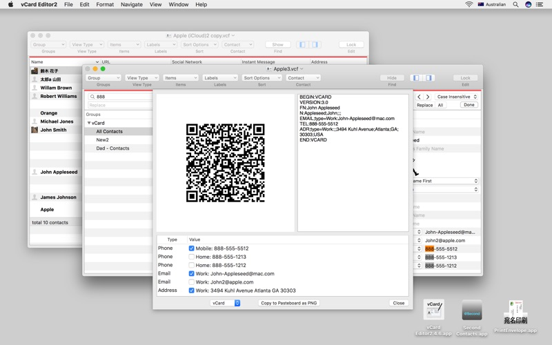 vCard Editor2