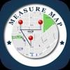 Measure Distance & Area on Map