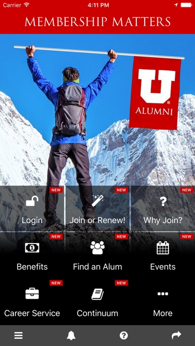 Utah Alumni Association screenshot 2