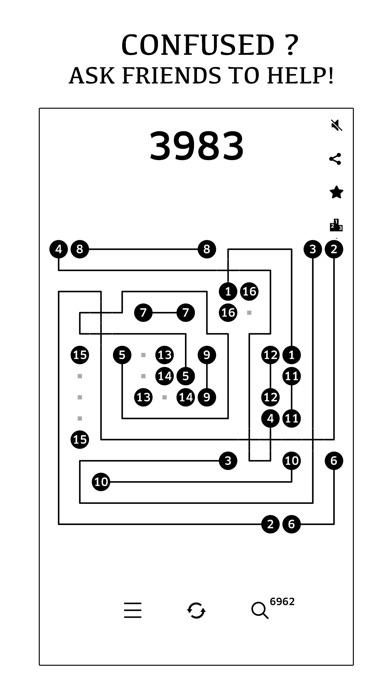数字连线 桥