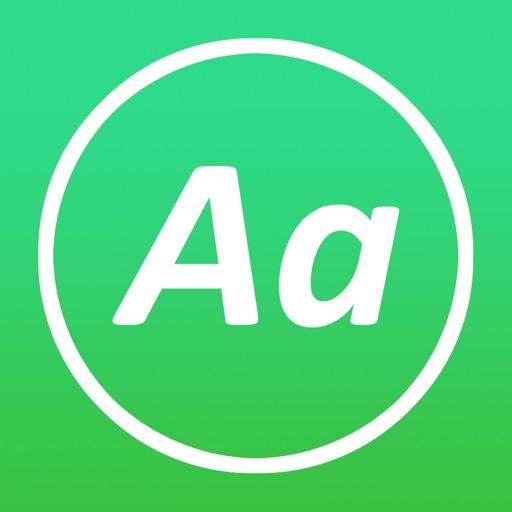 AnyFont app for ipad
