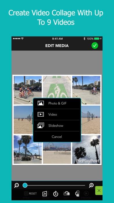 how to use picplaypost app