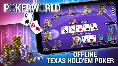 Скриншот Poker World - Офлайн Покер