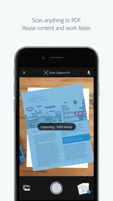 Adobe Scan: PDF Scanner, Documents, Receipts Screenshot 1