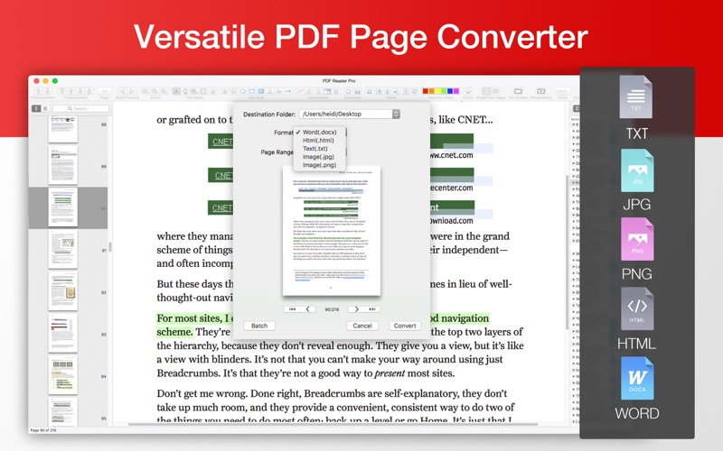 PDF Reader Pro - All-in-One PDF Office for Mac