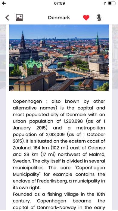 Danemark Guide de VoyageCapture d'écran de 4