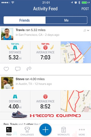 Map My Fitness by Under Armour screenshot 3