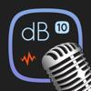 Decibel 10: Audio Sound Level (SPL) in dB, dBA