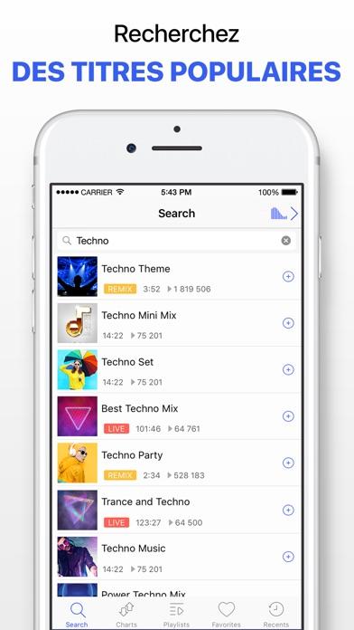 Screenshot for Lecteur de musique sans limite in Lebanon App Store