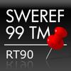 Svenska koordinater - SWEREF 99 TM - RT90