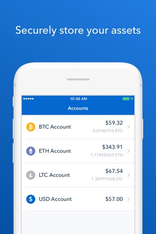 Coinbase - Buy Bitcoin & more screenshot 4
