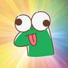 Tien Le - Lizard funny - Fx Sticker  artwork