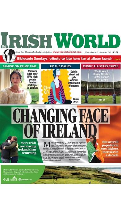 Irish World Newspaper review screenshots