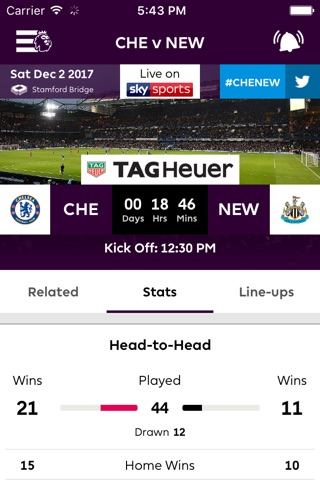 Premier League - Official App screenshot 3