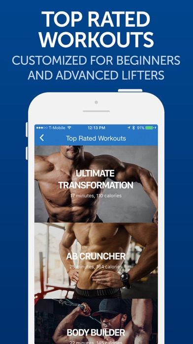 Fitness Buddy+: Gym Workouts Screenshots