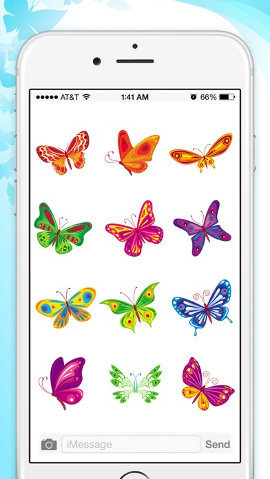 Butterfly Animated Stickers screenshot 4