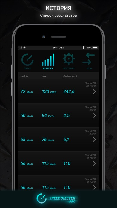 Speedometer PRO HUDСкриншоты 3