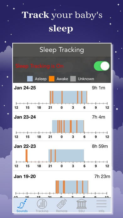 download Sound Sleeper: White Noise appstore review