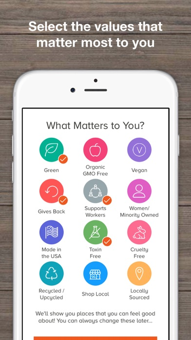 download DoneGood: Ethical Shopping App apps 3