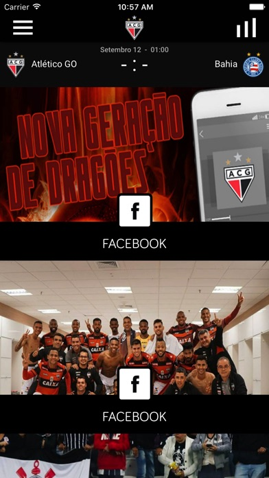 Atlético Clube Goianiense screenshot 1