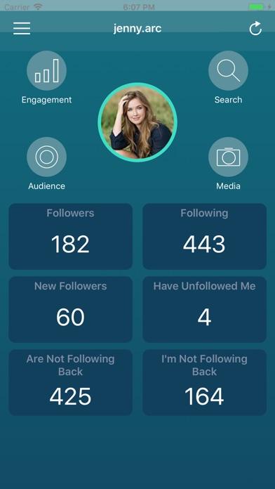 Followers Pro + for Instagram Screenshot 1
