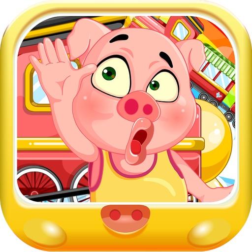 粉红小猪跟家人去旅行