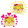 Nguyen Hoang - Cute Baby Boxfish Emoji Stickers  artwork