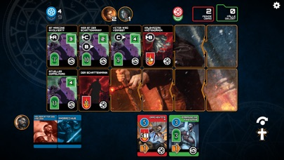 Screenshot 4 Dresden Files Co-op Card Game