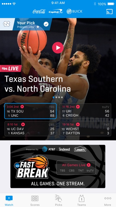 download NCAA March Madness Live apps 5