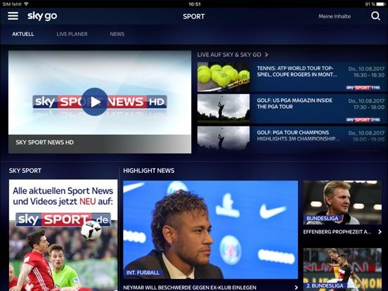 Sky Go Screenshot