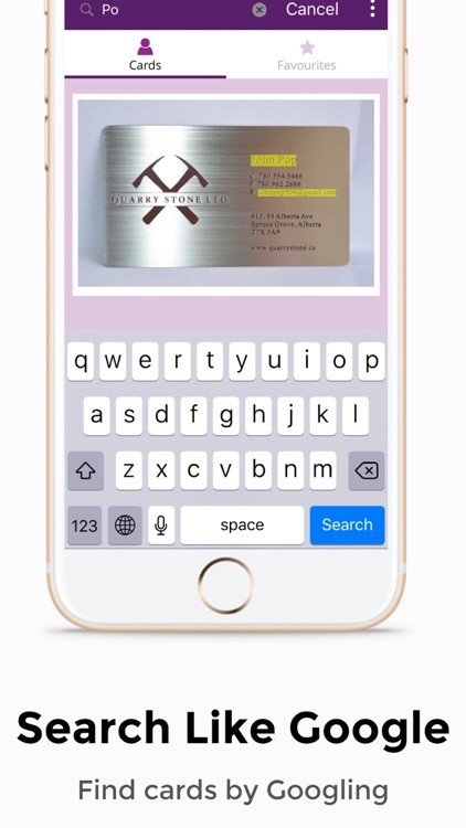 Cardhq business card reader by maskl cardhq business card reader iphone free in the app store reheart Gallery