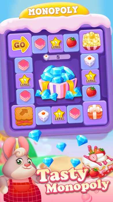 Tasty Treats - A Match 3 Puzzle Game Скриншоты6