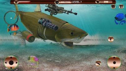Angry Robot Shark Simulator screenshot 2