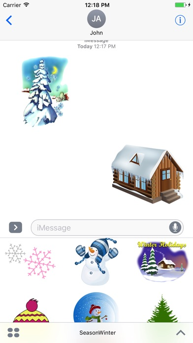 Screenshot for Season Winter in South Africa App Store