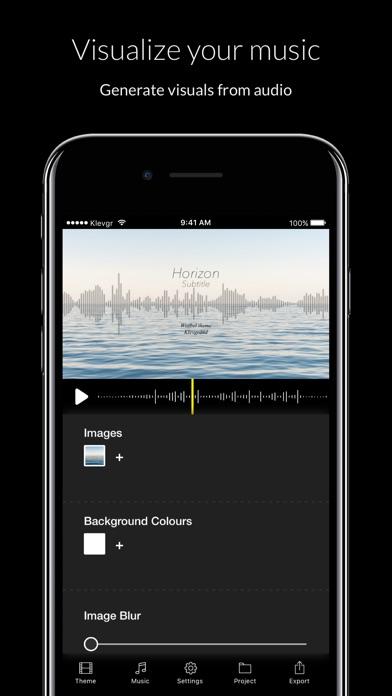 Wizibel - Audio Visualizer Screenshots