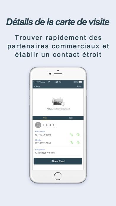 Carte De Visite OCR Scanner Pr 2514 Pour IOS Android