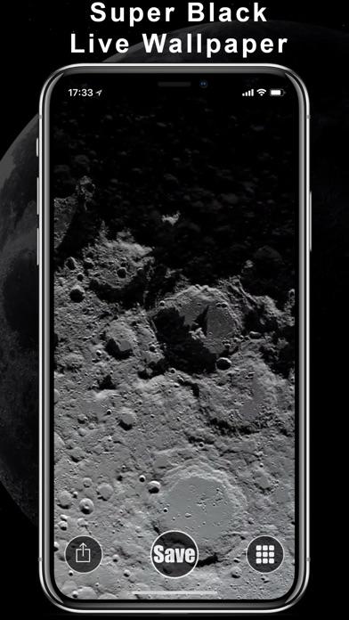 Super Black Live Wallpapers screenshot 3