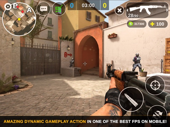 Counter Attack Multiplayer FPS на iPad