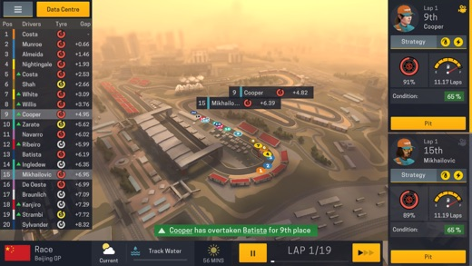 Motorsport Manager Mobile 2 Screenshots