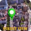 Leben Straße Route Karte