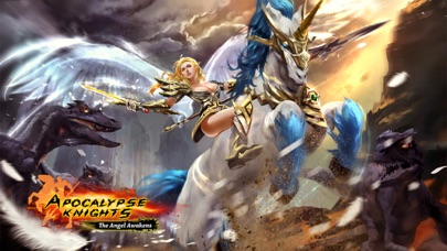 Screenshots of Apocalypse Knights - Endless Fighting with Blessed Weapons and Sacred Steeds for iPhone