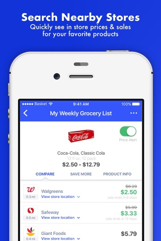 Basket - Grocery Shopping screenshot 1