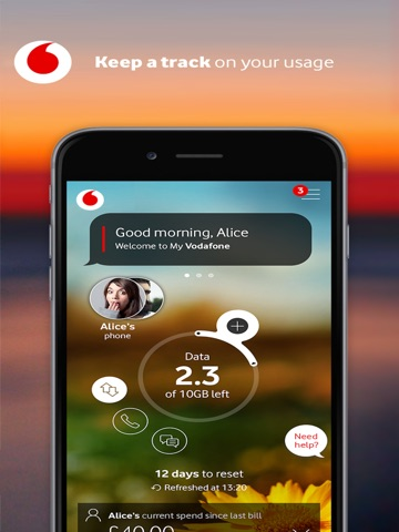 Download My Vodafone (India) app for iPhone and iPad
