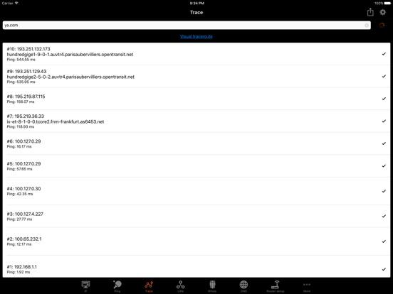 IP Tools: WiFi Analyzer Screenshots